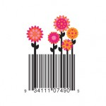 Pink Flowers barcode