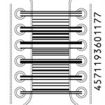 Shoelaces barcode